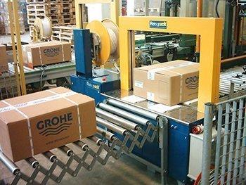 Omsnoeringsmachines voor de verpakkingsindustrie | Reisopack